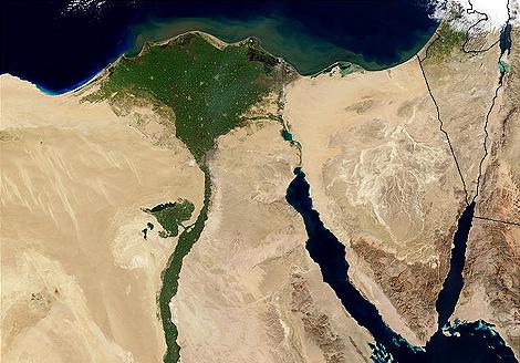 Delta del rio Nilo